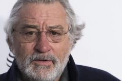 Robert De Niro recibe título honorario de la Universidad de Brown