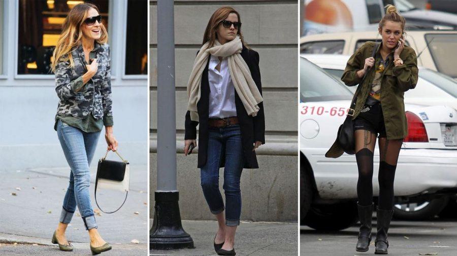 Cómo vestirse como Sarah Jessica Parker, Emma Watson o Miley Cyrus