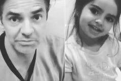 Aitana regañó e hizo callar a su famoso papá, Eugenio Derbez