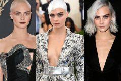 Cara Delevingne, hasta tres impresionantes y arriesgados cambios de look en un mes