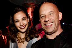 La bebé de Gal Gadot conoció a Vin Diesel y el actor sacó su lado más tierno