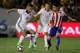 ¿Sabes qué jugador de Paraguay no podrá jugar contra Colombia en las Eliminatorias?