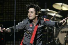 El cantante de Green Day comparó a Donald Trump con Lord Voldemort