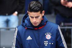 Se fue Ancelotti y ya empezó a pasar con James en el Bayern