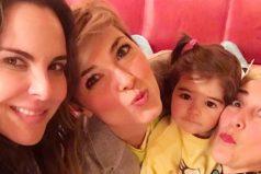 Mira el bello reencuentro de las actrices de 'La Reina del Sur', Kate del Castillo y Cristina Urgel