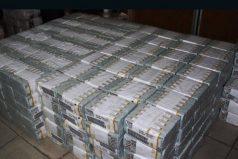 Descubren más de 43 millones de dólares en efectivo en un apartamento de Nigeria