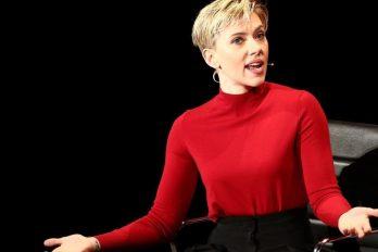 Scarlett Johansson no descarta entrar en política