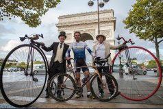 Este aventurero ciclista dio la vuelta al mundo en 79 días ¡Así logró el récord!