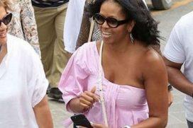 Los tops de Michelle Obama que también querrás tener para tus vacaciones