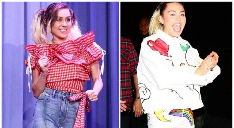 Miley Cyrus sorprende a seguidores con una presentación en la calle