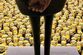 Encuentra al Bob Esponja escondido entre miles de Minions