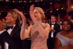 Nicole Kidman se convirtió en viral por su extraña forma de aplaudir