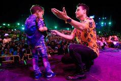 Jesús Ibarra, el niño acordeonero que descrestó a Silvestre en Baranoa