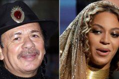 """Carlos Santana aclara su comentario de que Beyoncé """"no es una cantante"""""""