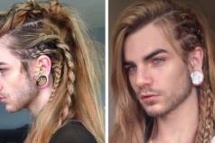 Este chico tiene las mejores trenzas de pelo de todo el bendito Internet