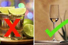 16 Errores que probablemente cometes al tomar tequila