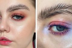 Las cejas de pluma es la nueva moda que probablemente nadie estaba esperando