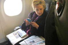 Esta foto de Hillary Clinton es viral por un conflictivo detalle