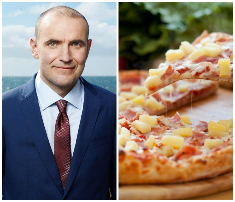 Presidente de Islandia quiere prohibir la piña en la pizza