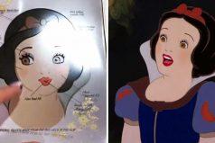 """Fiel a la película, maquillaje inspirado en """"Blancanieves y los 7 enanitos"""" está hecha para sonreír y cantar"""