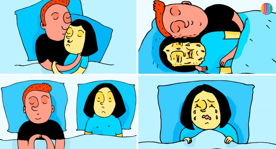 12 cosas que te pasan cuando duermes con tu pareja. Probablemente todos los días