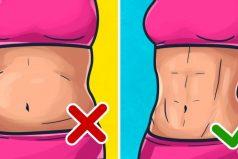 Este método japonés teayudará aquemar lagrasa del abdomen rápidamente