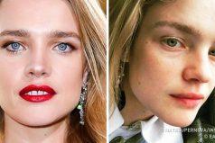 Cómo seven las 12supermodelos más famosas sin maquillaje