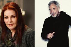 El cantante Tom Jones rehace su vida junto a Priscilla Presley