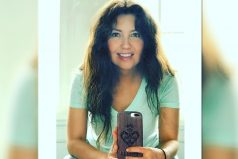 Thalía se mostró sin maquillaje y con el cabello al natural en Instagram