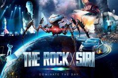 La asistente virtual de Apple se convierte en actriz en la película 'The Rock x Siri'