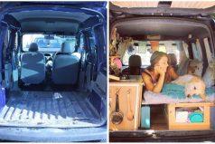 Restauró una van y decidió viajar por el mundo con su perro. ¡Son las vacaciones perfectas!