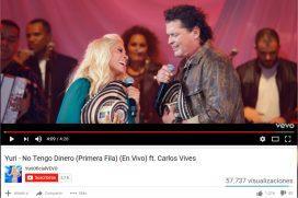 Carlos Vives se une a Yuri para homenajear a Juan Gabriel con 'No tengo dinero'