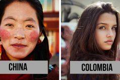 Una fotógrafa retrató a mujeres de más de 60 países para mostrar que la belleza está en todos lados